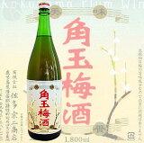 ≪梅酒≫ 角玉梅酒 1800ml :かくたまうめしゅ