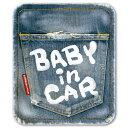 ヴィンテージデニム ベビーインカー ステッカー 赤ちゃん ベイビーインカー