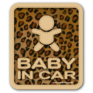 ベビーインカー ステッカー 赤ちゃん ベイビーインカー おしゃれ