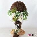 【花飾り】ガーベラ,かすみ草,木の実のヘッドドレス11点SE...