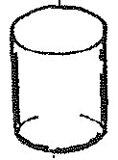 コロナ部品:ガラス外筒/122105石油ストーブ用