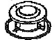 コロナ部品:燃焼リング/050405000クイックパルスバーナー用