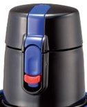ピーコック部品:栓ユニット(ディープブルー);ADP-SNU-AF/ADP-F102S-AFステンレスボトル用〔70g〕〔メール便対応可〕