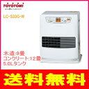トヨトミ:石油ファンヒーター(ホワイト)/LC-S33G-W