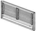 三菱電機部品:壁埋込形用前面グリル/MAC-626TGエアコ...
