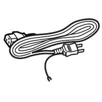 シャープ部品:電源コード(1.8m)/5235000100 液晶モニター用