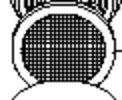 ツインバード部品:交換フイルタ−(2枚入)/BA−AF35ジェットマッサージャー用