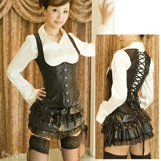 -G string with ☆ bust enhancement! best wind ♪ corset (black), ミーミーゴスロリ • more than 7000 Yen also! Necking Get ♪ in low back pain.