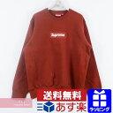 Supreme 2018AW Box Logo Crewneck Sweatshirt Rust シュプリーム ボックスロゴクルーネックスウ...