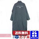 BALENCIAGA Kering Puffer Raincoat 486299 TVD13 バレンシアガ ケリングパフィーレインコート 中綿ロングコート ブラック サイズ44 【200122】【me02】【me04】