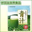 【ポイント5倍】ゴクゴク飲める美味しい青汁 世田谷自然食品 乳酸菌が入った青汁 30包