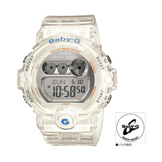 "BG69007BJF mounted with CASIO Casio Baby-G ""Jelly Marine Series"" (the Jerry Malin series) neon illuminator"
