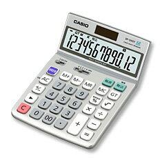 12位CASIO(卡西歐計算機)特大表示計算器寫字臺型DF-120GT