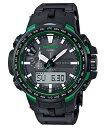 【国内正規品】【カシオ】CASIO 腕時計 PROTREK トリプルセンサーVer.3搭載 世界6局対応電波ソーラー PRW-6100FC-1JF メンズ【smtb-MS】