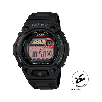 "BLX1021JF mounted with CASIO Casio Baby-G ""G-LIDE"" (G ride) tide graph"