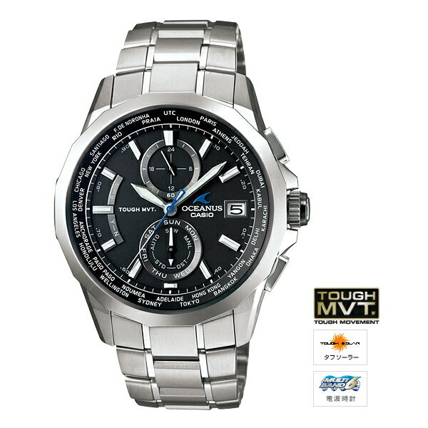 CASIO Casio OCEANUS ( Oceanus ) Manta Smart Access with OCW-S 2000-1 A2JF