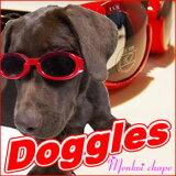 【地域限定・ NHKおはよう日本で紹介されました】ドグルズ シャイニーレッド(Doggles 犬専用ゴーグル)☆レビューを書いて(※但し、北海道・沖縄・離島別途送料がかかります)