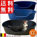 ペット用ベッド ドーム XL ブルーベリー/ブラック/ネイビー☆大型犬〜超大型犬に!夏を涼しくクールなドーム型ベット【特価セール】【同梱不可】