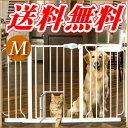 犬用ゲート カールソン オートロックゲート Mサイズ☆超小型犬や猫ちゃんのためのドアと拡張フレーム付き