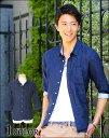 【送料無料】シャツ 七分袖 メンズ カジュアル カジュアルシャツ ストライプシャツ 七分袖シャツ 春 メンズスタイル menz-style