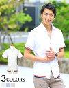 シャツ メンズ カジュアルシャツ 白シャツ 半袖シャツ メン...