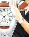 腕時計 メンズ 時計 本革 本革 リアルレザー メンズファッション