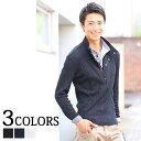 ポロシャツ メンズ カジュアルシャツ トップス 長袖 メンズ...
