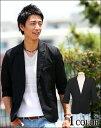 【送料無料】テーラードジャケット テーラード ジャケット 五分袖 秋服 メンズ カジュアル フォーマル メンズスタイル menz-style
