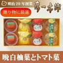 【晩白柚菓とトマト菓】8個入 熊本名産 ...