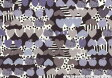 ハローキティ×リバティアートファブリック〜Season4〜つや消しラミネート(ビニールコーティング生地)<Flower Bed>(フラワーベッド)LAMI-DC28139-12B リバティ ラミネート 生地