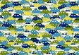 LIBERTYリバティプリント・つや消しラミネート(ビニールコーティング生地)<Cars>(カーズ)MATLAMI3639172-02B