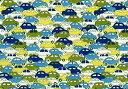 LIBERTYリバティプリント・国産タナローン生地<Cars>カーズ3639172-02BT