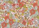 LIBERTYリバティプリント・国産つや消しラミネート(ビニールコーティング生地)<Flower Tops>(フラワー・トップス)MATLAMI3637188-...