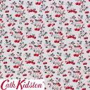 Cath Kidston キャスキッドソン 生地 コットンファブリック<Cherry Sprig Red>(チェリースプリッグ レッド)CHERRY-SPRIG