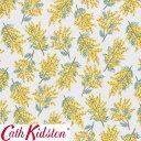 Cath Kidston キャスキッドソン 生地 コットンファブリック<Mimosa Flower Citrine>(ミモザフラワー シトリン)MIMMOSA-FLOWER