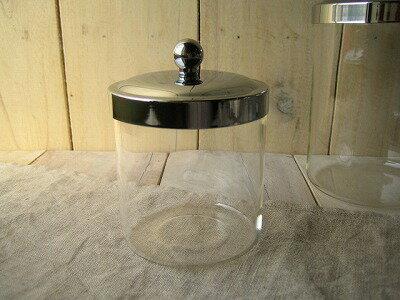 グラスジャー Sサイズ ガラス ガラスジャー ガラス キャニスター 瓶 ビン 保存容器 キ…...:merci-p:10008977