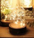RoomClip商品情報 - 1,000円OFFクーポン配布中 LED ガラスドームライト 普通サイズ LED対応 おしゃれ かわいい ナチュラル シンプル キャンプ アウトドア