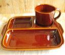 RoomClip商品情報 - スタジオエム(スタジオM) ヴァリエ ランチプレート 白い/アメ 食器 陶器 仕切り
