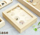 ショッピングパーテーション アクセサリーケース SS 木製 ラルース La Luz ジュエルボックス アクセサリーケース ショーケース ジュエリーケース ジュエリーボックス アクセサリーボックス コレクションケース コレクションボックス 硝子 ガラス 木製フレーム 木フレーム