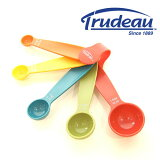 メジャーリングスプーン5pcsセット 【Trudeau /トゥルーデュー】 |計量カップ|メジャージャグ|計量スプーン|キッチン雑貨