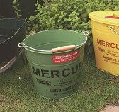 mercury マーキュリー バケツ ブルー カーキ ネイビー レッド ホワイト イエロー ブラック