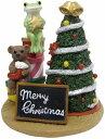 コポー クリスマス ミドルツリーの飾りつけ Copeau 動物 x 039 mas 雑貨 置物 小物 オブジェ カエル 蛙 フロッグ FROG かわいい