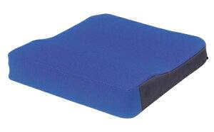 シーポス(車いす用クッション) 幅40cmx長さ40cmx厚さ5cm(最厚部7cm) ブルー 1個 MSPBL モルテン