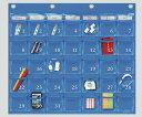 カレンダーポケット ブルー W-416BL 1個【条件付返品可】