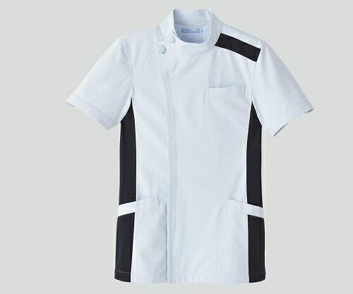 メンズジャケット半袖 サックスxネイビー 3L ...の商品画像