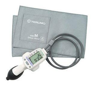 【送料無料】電子血圧計 エレマーノ ホワイト ES-H55 テルモ