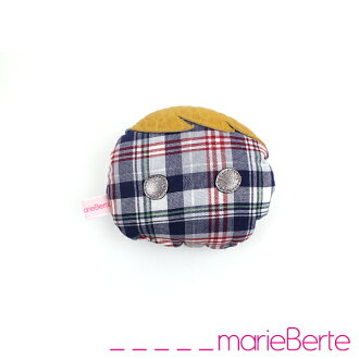 "marieBerte マリーベルト Roger Family mini cushion (S) ""not allowed"" (22 MB-ROGER-S)"