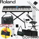【送料無料】Roland 電子キーボード ゴーピアノ(GO PIANO)背負えるキーボードケース付き