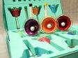 在庫あり■ミュージックベル ハンドベル カラー20音 タッチ式+クッションケースセット