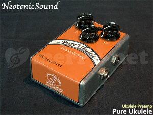 NeotenicSound ウクレレ プリアンプ ネオテニックサウンド エフェクター EFFECTORNICS ENGINEERING